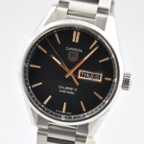 TAG Heuer Carrera Calibre 5 pre-owned 41mm Steel