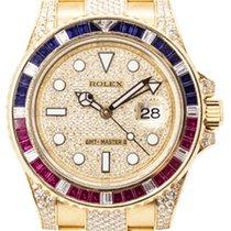 Rolex 116758 SARU Gelbgold GMT-Master II 40mm