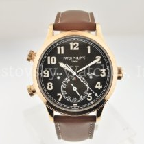 Patek Philippe Travel Time Rose gold 42mm Brown Arabic numerals United States of America, California, Beverly Hills