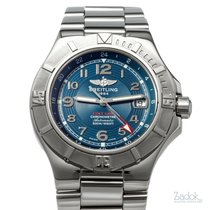 Breitling Colt GMT+ Steel 40mm Blue United States of America, Texas, Houston