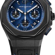 Girard Perregaux Laureato Titanium 44mm Blue United States of America, New York, Airmont