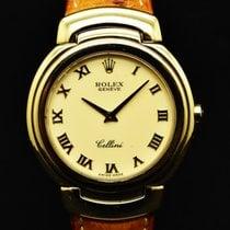 Rolex Cellini Oro amarillo 37mm Blanco Romanos España, Barcelona