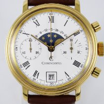 Chronoswiss Steel 36mm Manual winding Lunar pre-owned