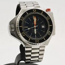 Omega Seamaster PloProf Steel 47mm Black No numerals