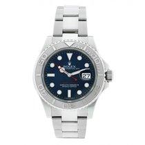 Rolex Yacht-Master 40 occasion 40mm Bleu Date Acier