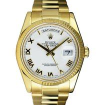 Rolex Day-Date 36 36mm White
