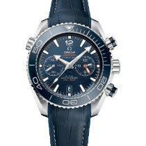 Omega Seamaster Planet Ocean Chronograph 215.33.46.51.03.001 Novo Aço 45.5mm Automático