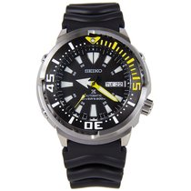 Seiko Prospex Steel 47mm Black