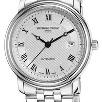Frederique Constant Steel Automatic Silver 42.8mm new Classics Automatic