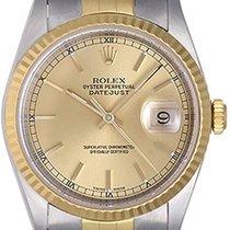 Rolex Datejust Men's 2-Tone Steel & Gold Watch 16233