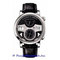 A. Lange & Söhne Zeitwerk White gold 44mm Black United States of America, California, Newport Beach