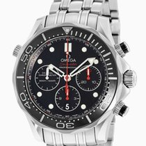 Omega Seamaster Diver Co-axial Chronograph Automatic Watch...