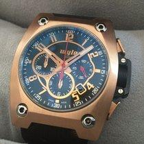 Wyler Code-R Automatic Chronograph - Ltd. Ed. x/3999 - Rose Gold