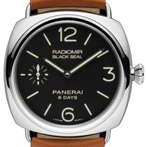 Panerai RADIOMIR BLACK SEAL 8 DAYS ACCIAIO - 45 ММ PAM00609
