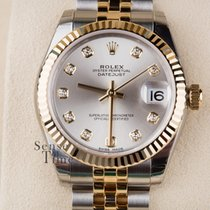 Rolex Lady-Datejust Steel & 18k YG Jubilee Diamond