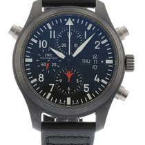 IWC Pilot's Top Gun Double Chronograph IW3799-01 Watch with...
