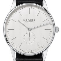 NOMOS Orion 38 Steel 38mm White