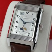 Jaeger-LeCoultre Reverso Grande Date Steel 47mm Silver Arabic numerals United States of America, California, Los Angeles