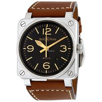 Bell & Ross BR 03-92 Steel BR0392-ST-G-HE/SCA new