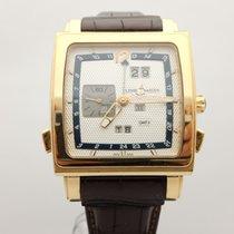 Ulysse Nardin Quadrato Dual Time Perpetual Rose gold 42mm Silver Arabic numerals
