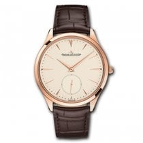 Jaeger-LeCoultre Rose gold Automatic Champagne 38.5mm new Master Ultra Thin