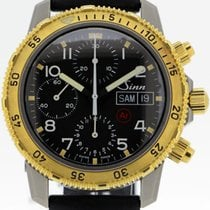Sinn 203 pre-owned 40mm Yellow gold