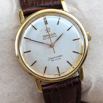 Omega Seamaster DeVille Yellow gold 30mm Champagne
