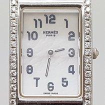 Hermès White gold Quartz pre-owned