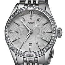 Oris Artelier Date Steel 28mm Silver