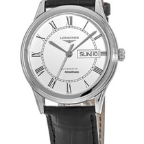 Longines L4.899.4.21.2 Staal Flagship nieuw