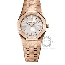 爱彼 Royal Oak Lady 67653OR.GG.1263OR.01 全新 玫瑰金 33mm 石英
