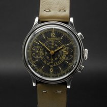 Eberhard & Co. Steel 40mm Manual winding 33213 pre-owned United States of America, Florida, Miami