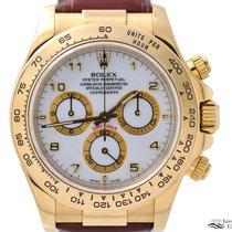 勞力士 Daytona 116518 非常好 黃金 40mm 自動發條