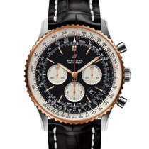 Breitling Yellow gold Automatic Black 46mm new Navitimer 01 (46 MM)