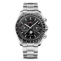 Omega Speedmaster Professional Moonwatch Moonphase Steel Black No numerals United States of America, Iowa, Des Moines