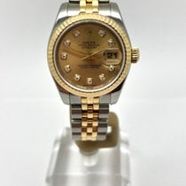 Rolex Lady-Datejust Gold/Steel 26mm Champagne