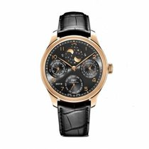 IWC Portuguese Perpetual Calendar IW503404 Very good Red gold 44.2mm Automatic