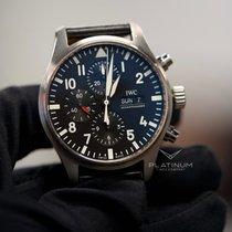 IWC Pilot Chronograph IW3777-09 Bueno Acero Automático