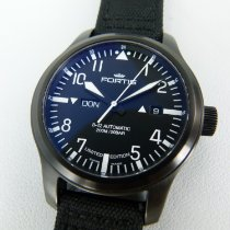 Fortis Acier 42mm Remontage automatique FORTIS 富通 B-42 Aeromaster Day-Date (42mm) 655.18.158 occasion