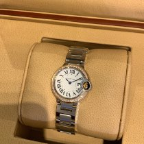 Cartier Ballon Bleu 28mm Gold/Steel 28mm Silver United States of America, New York, New York