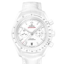 Omega Speedmaster Professional Moonwatch Ceramic White No numerals