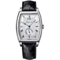 Breguet new Automatic Small seconds 39mm White gold Sapphire crystal
