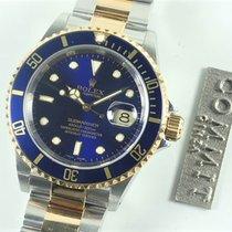 롤렉스 서브마리너 데이트 중고시계 40mm 파란색