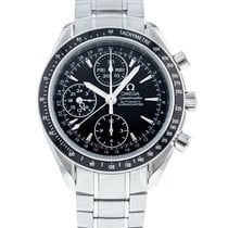 Omega Speedmaster Day Date Acero 40mm Negro