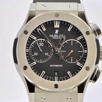 Hublot 521.NX.1170.LR Titanium 2014 Classic Fusion Chronograph 45mm pre-owned United States of America, New York, New York