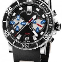 Ulysse Nardin Maxi Marine Diver Steel 42mm Black No numerals United States of America, New York, Greenvale