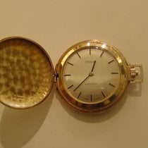 Tissot Часы подержанные Желтое золото 40mm Без цифр Механические Только часы
