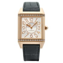 Jaeger-LeCoultre Reverso Squadra Lady Duetto Or rose 42mm Argent