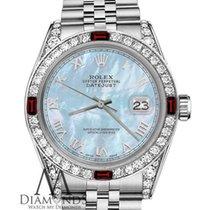 Rolex Lady-Datejust Steel 26mm Blue Roman numerals United States of America, New York, New York
