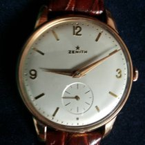 "Zenith rare ""stellina"" 18kt pink gold oversize 36mm"